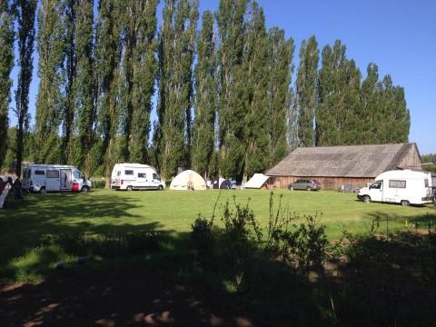 Gezelligheid op de camping